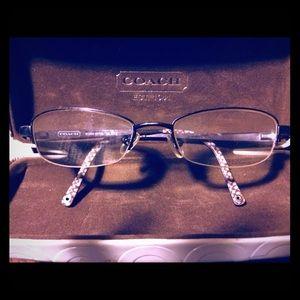 Authentic coach eye glass frames